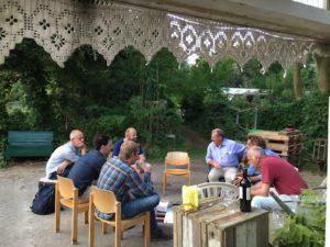 vergaderen bij De Biotoop